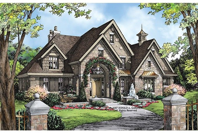 Eplans european house plan 3784 square feet and 4 for Eplans house plans