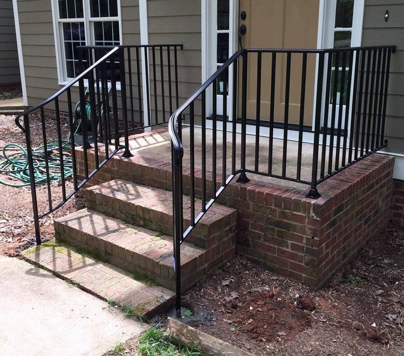 Best Marvelous Deck Stair Railing Length To Inspire You 640 x 480