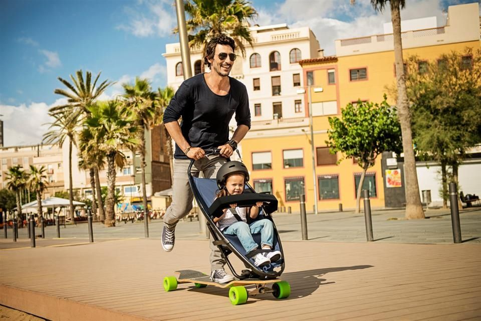 Quinny Longboardstroller The exciting solution for