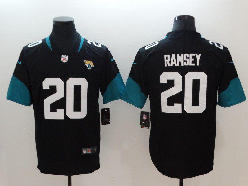 info for 7a207 242a9 Men Jacksonville Jaguars 20 Ramsey Black Vapor Untouchable Limited Player Nike  NFL Jerseys