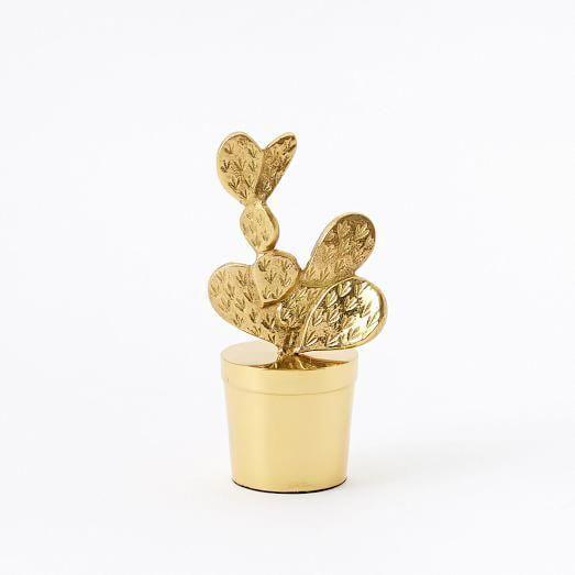 Brass Cactus Objects #homedecoritems