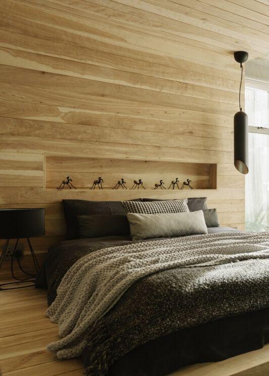 houten wanden zijn de nieuwe interieurtrend. houten muurbekleding is