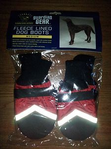 SOLD - Guardian Gear Fleece Lined Dog Boots - NWOT - Size Med