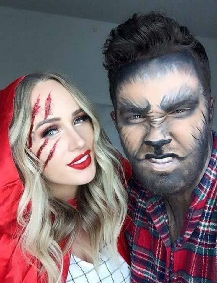 67 Wonderful Halloween Costume & Makeup Ideas For Couples  ||  Halloween is never a festival for alone people, but a group of people reveling. If you spend this grotesque Halloween with your lover, you each other will get some more sweetness. Why don't you both plan elaborately and dress up? Regardless of whether you are a timid and lovable little woman, or an independent and bold woman. Regardless of whether you are gentle gentry, or a funny childish ... #coupleshalloweencostumeideas