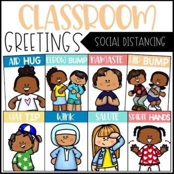 Classroom Greetings   Social Distancing   Morning Greeting