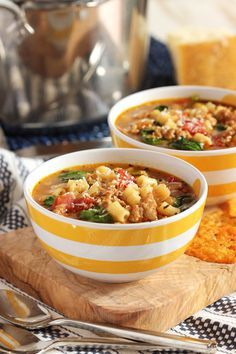 Ready in 20 minutes, this healthy and hearty soup will be a family favorite for easy weeknight dinners. | @suburbansoapbox