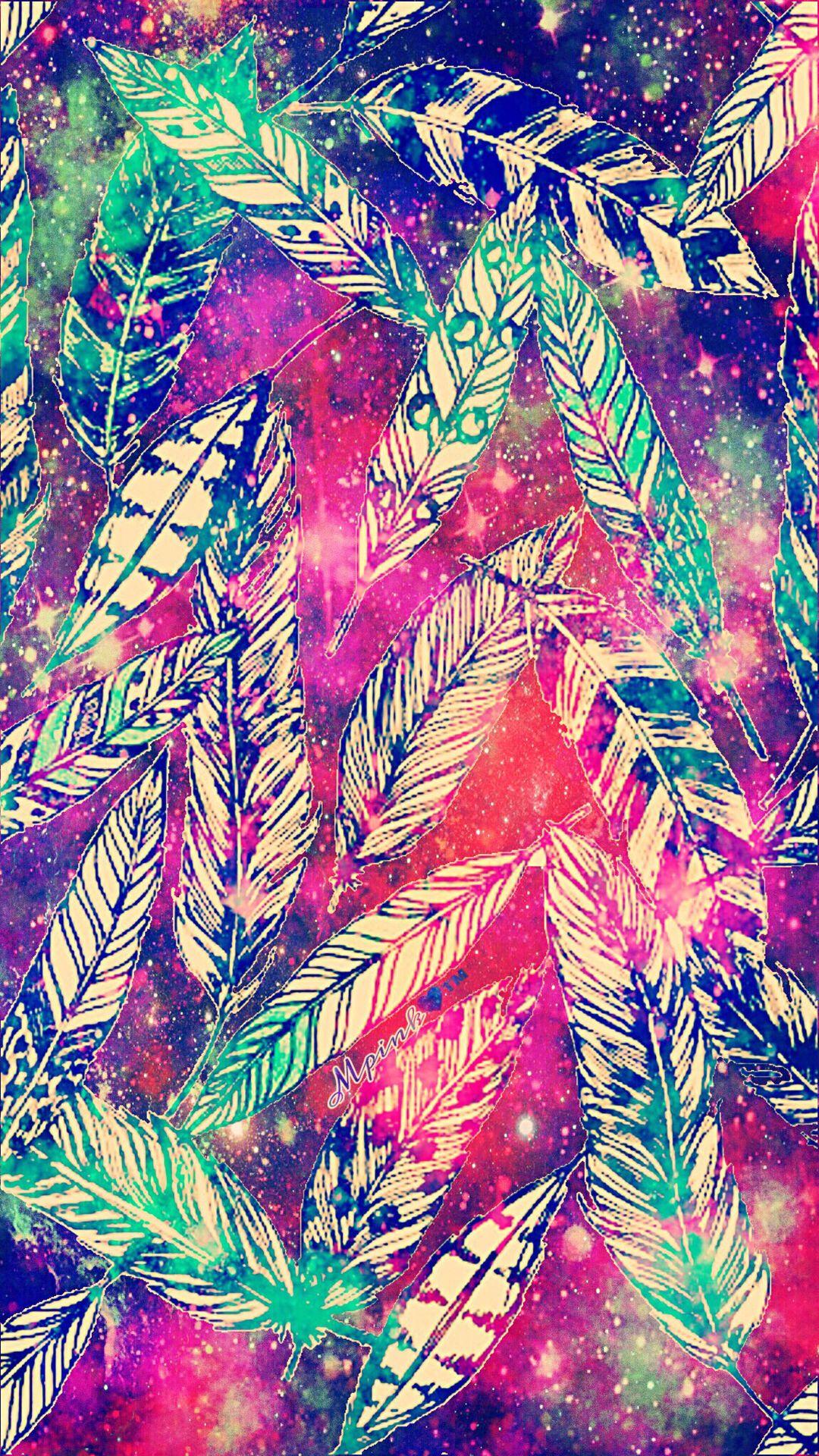 Falling Feathers Galaxy Wallpaper Androidwallpaper Iphonewallpaper Wallpaper Galaxy Sparkle Gli Trippy Iphone Wallpaper Iphone Wallpaper Galaxy Wallpaper