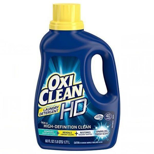Amazon Oxiclean Hd Laundry Detergent 60oz Bottle Just 4 09 Shipped Laundry Detergent Cleaning Laundry