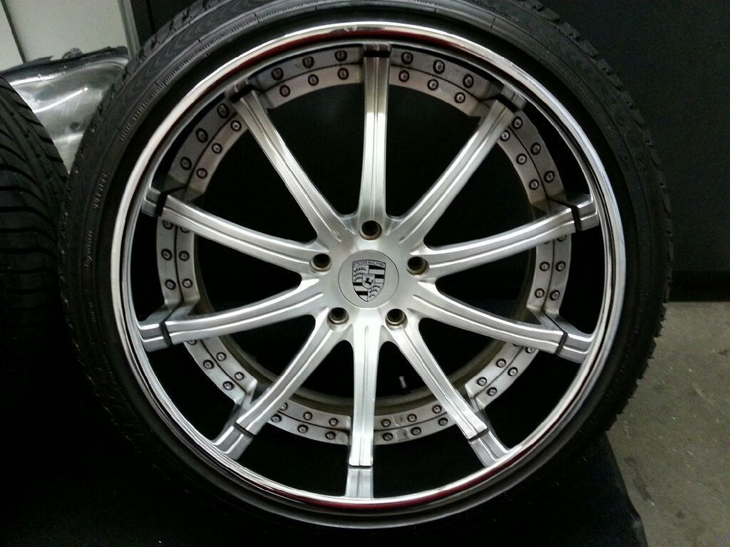 Asanti Rims Pre Owned 22 Inch Af 160 Porsche Wheels Cayenne