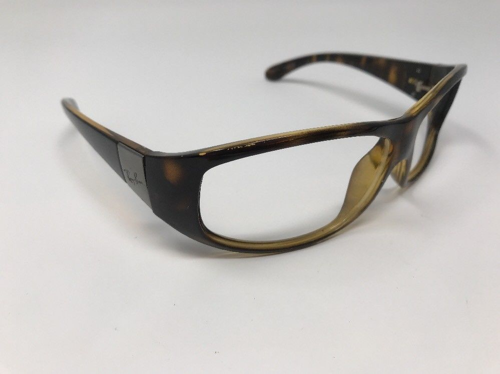Ray Ban Sunglasses Rb 4110 710 Tortoise For Parts W859 Fashion