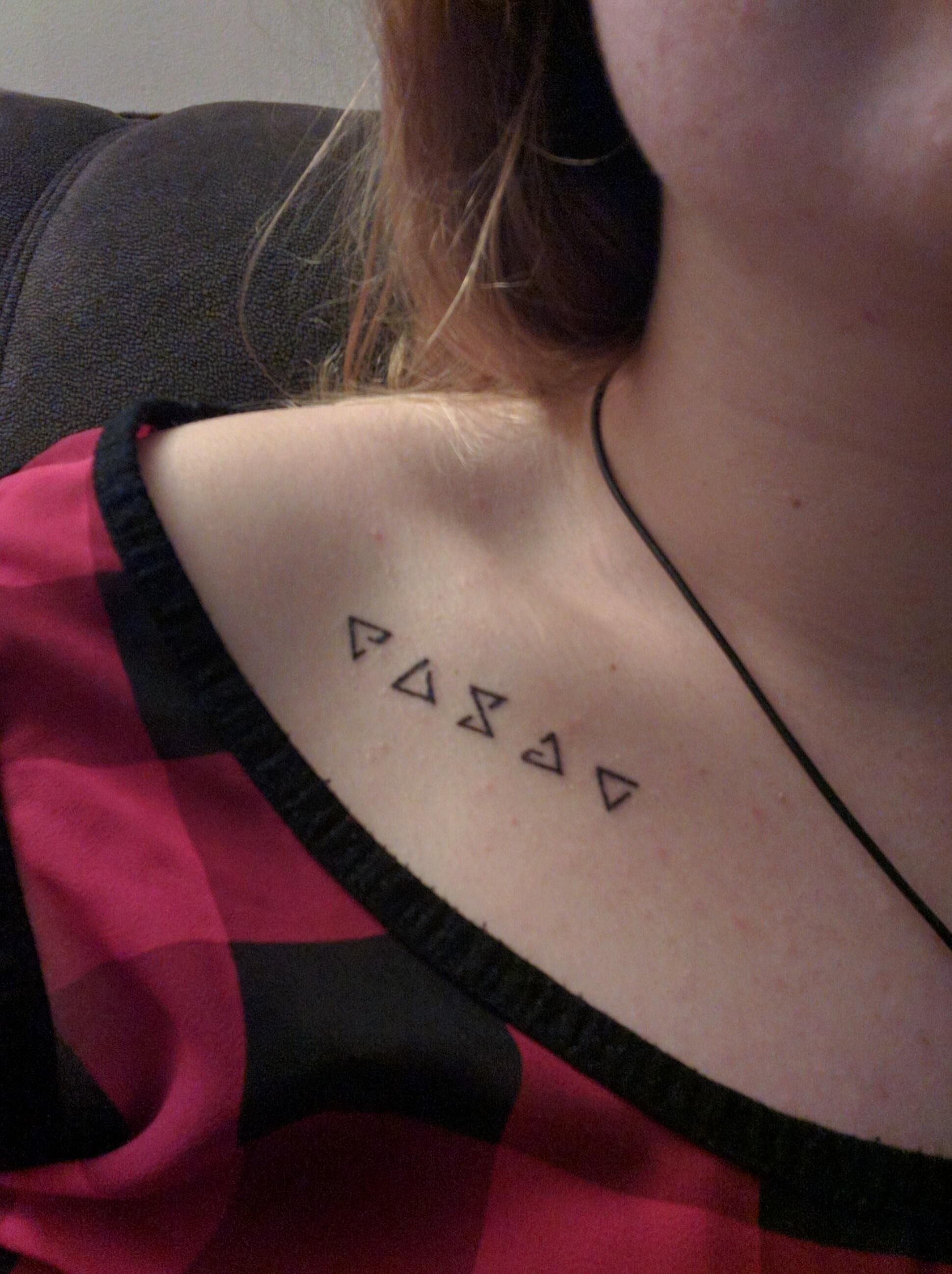 Tattoo Aries - the choice of purposeful and persevering