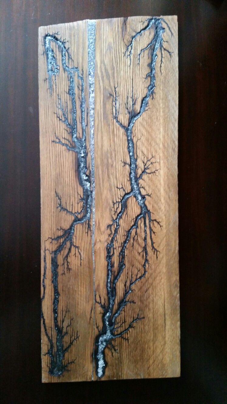 Electrified Wood Art : electrified, Electrified, Projects,, Lichtenberg