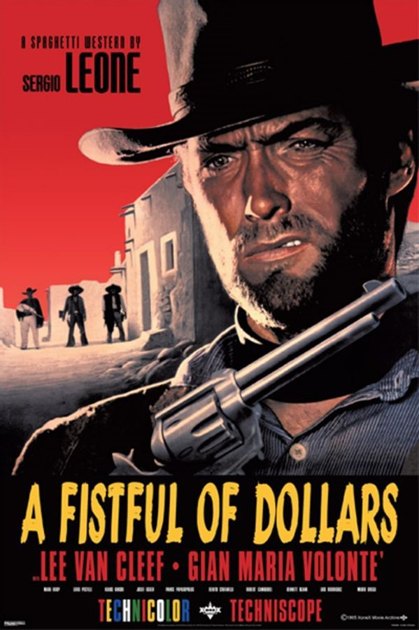 A FISTFUL OF DOLLARS Movie PHOTO Print POSTER Film Clint Eastwood Glossy 002