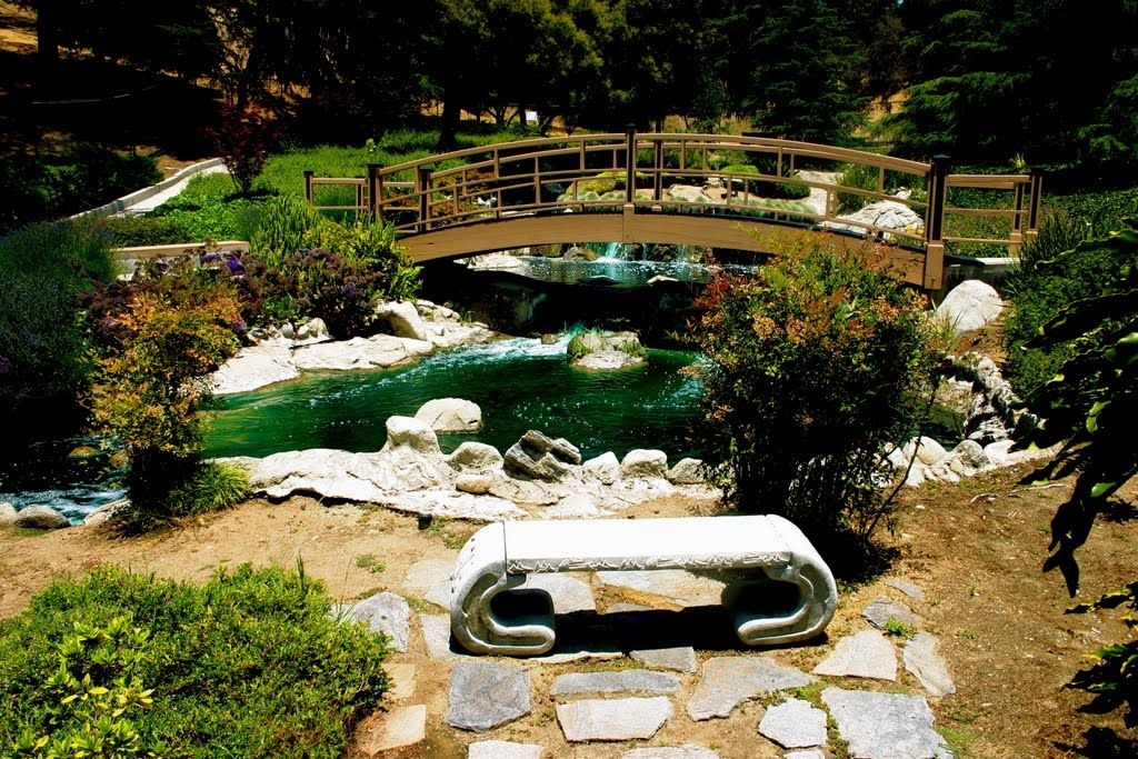 Elysian Park Map garden at the Grace Simmons Lodge Elysian