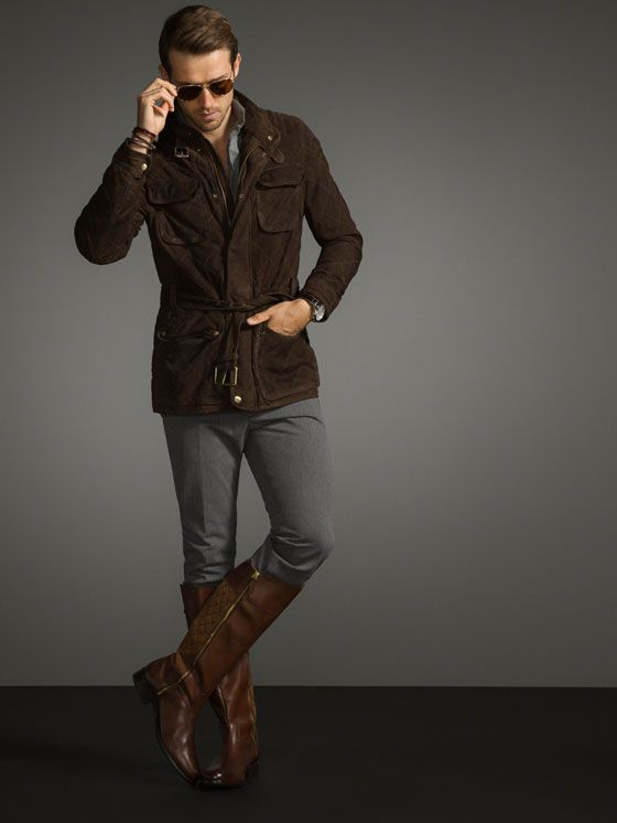 Looking Dapper In Boots Riding Quite And A Suede Jacket shQrdtC