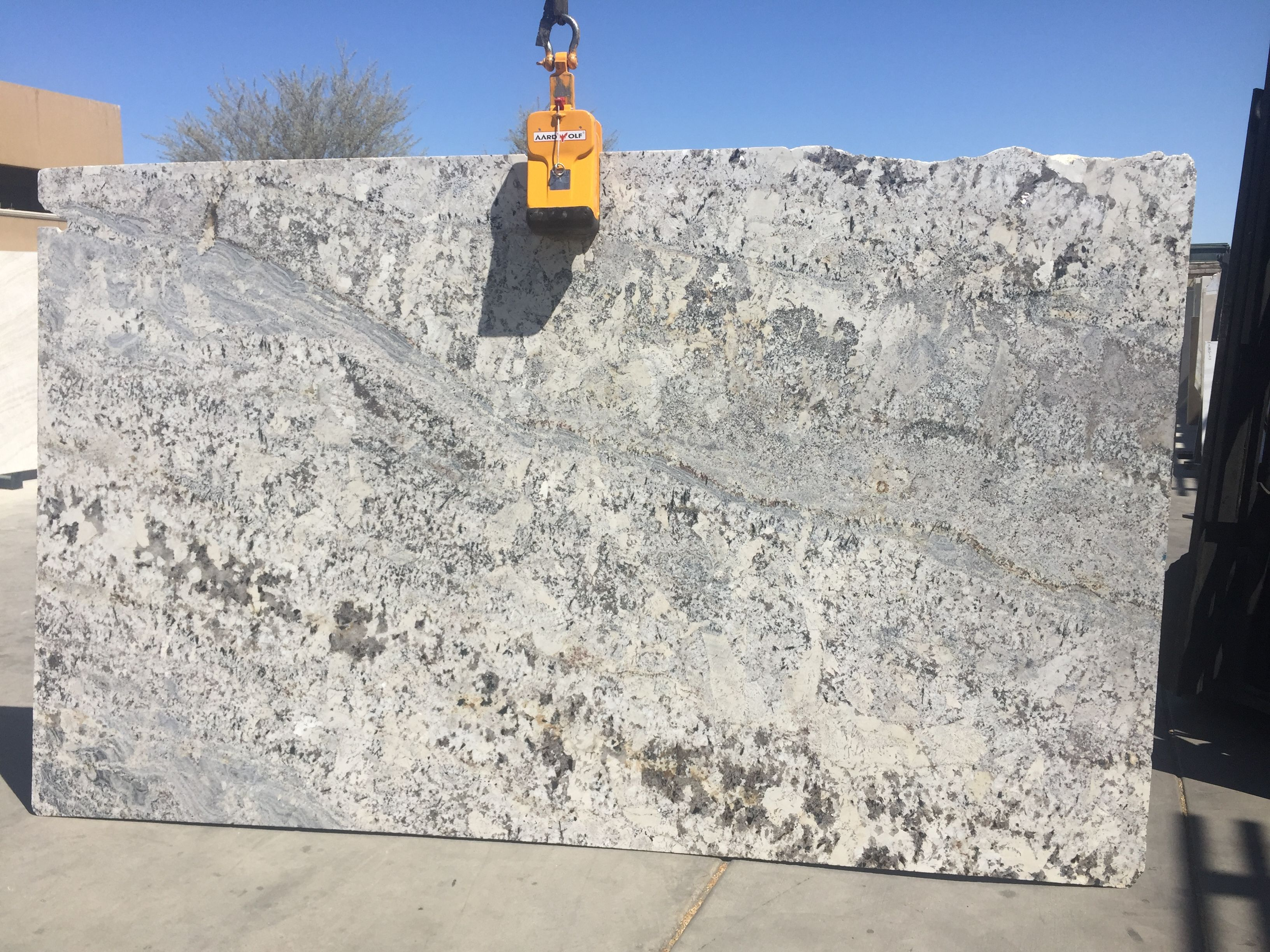 Persa White Leather Granite Granites Pinterest