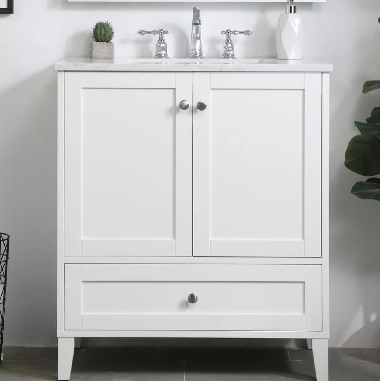 The Best Shallow Depth Vanities For Your Bathroom Trubuild Construction In 2020 Single Bathroom Vanity 30 Inch Bathroom Vanity Double Vanity Bathroom
