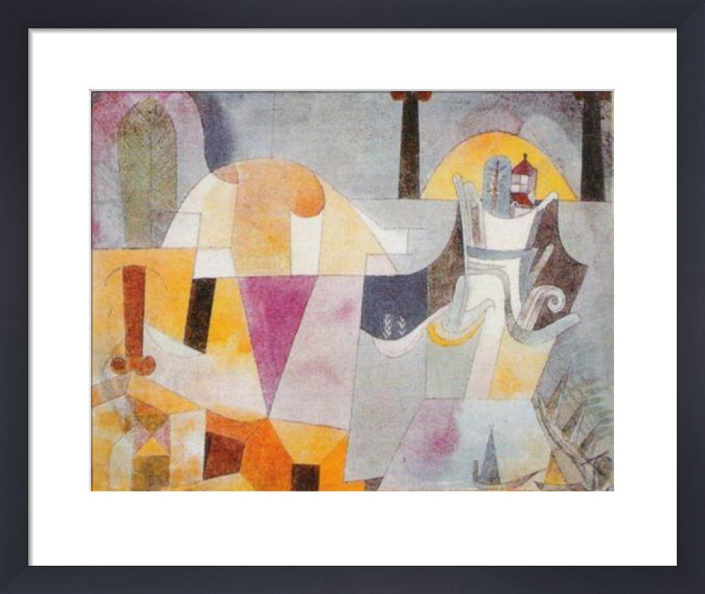 Landscape with Black Columns Art Print by Paul Klee at King & McGaw