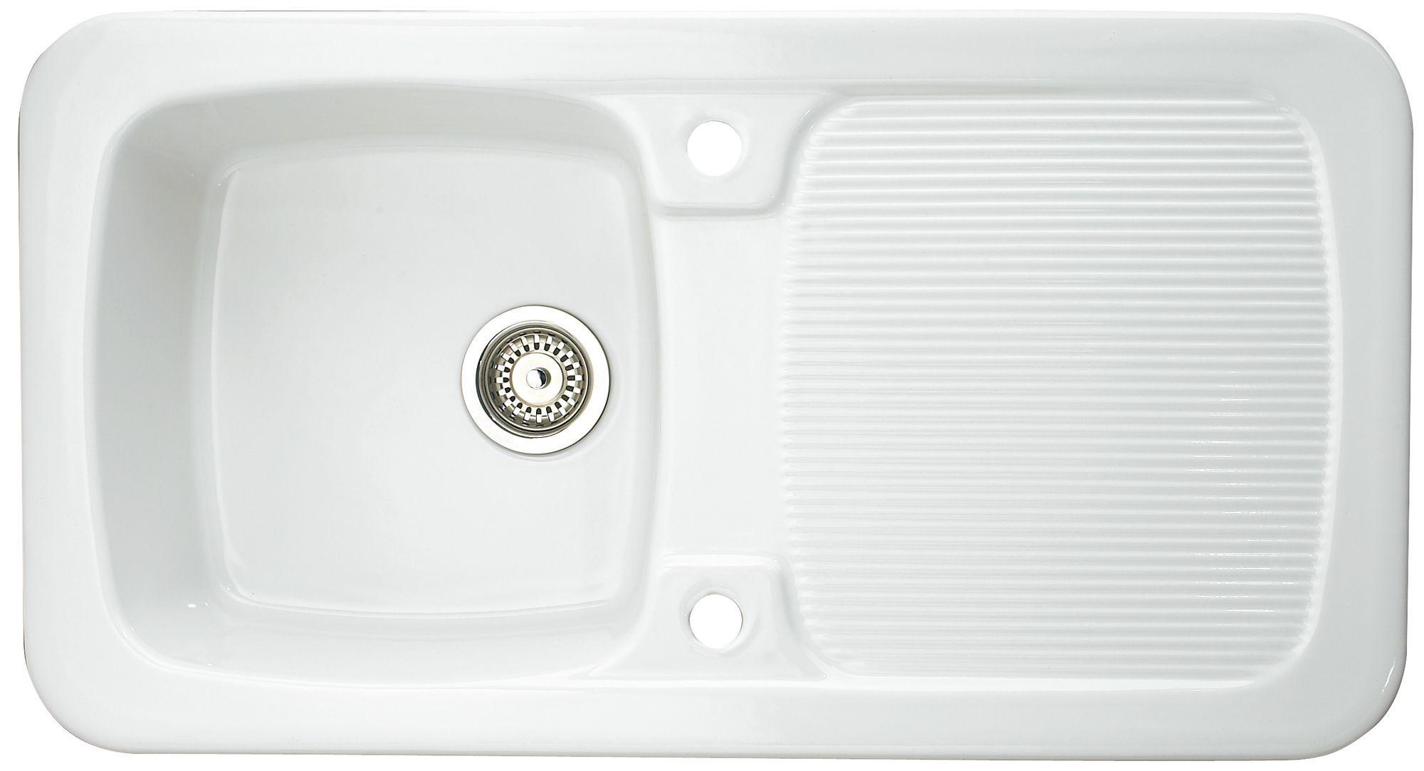 Aquitane sink from B&Q. £187. White ceramic. | Kitchen | Pinterest ...