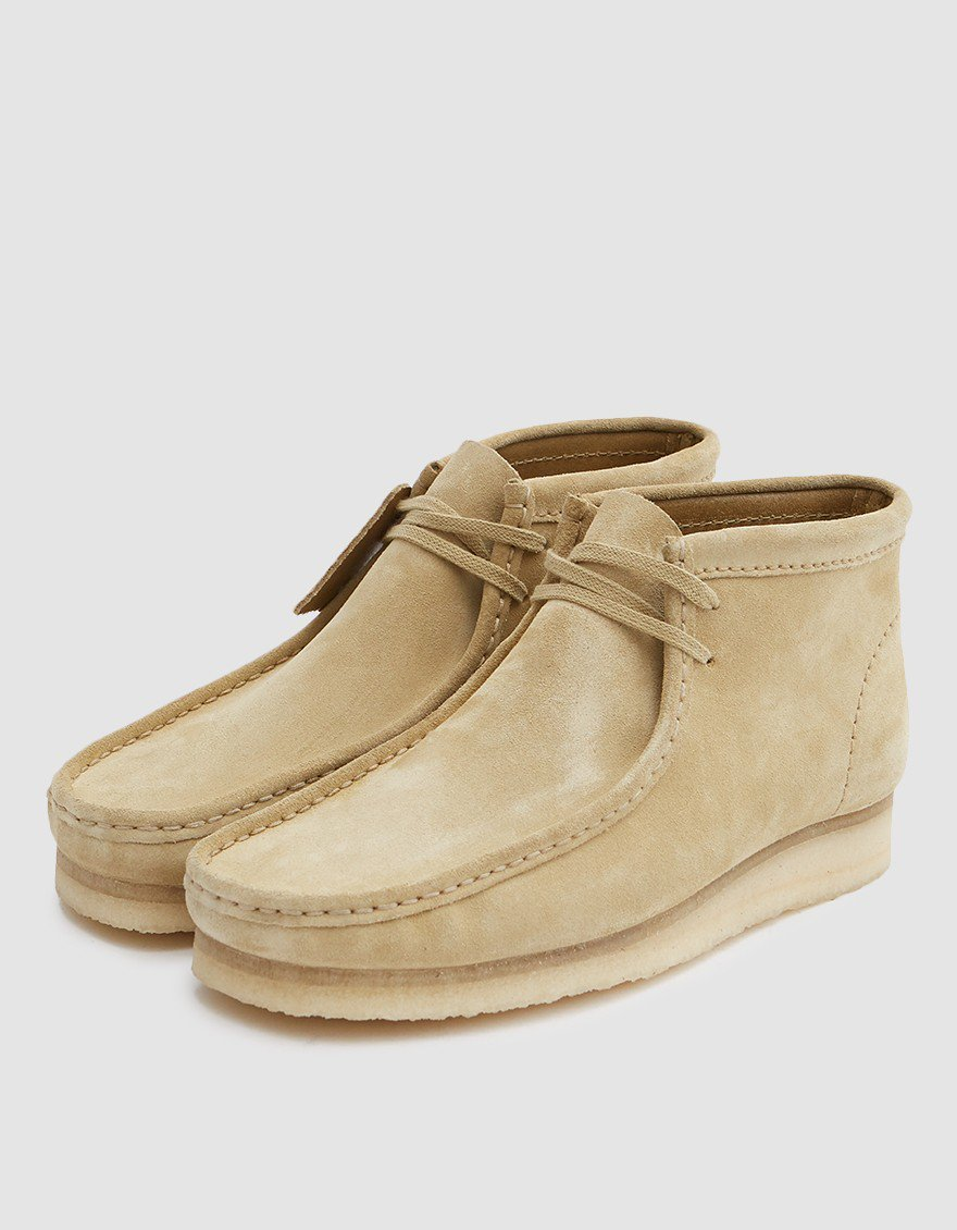 2c1f05f4 Clarks Wallabee Boot // Maple Suede in 2019 | Products | Boots ...
