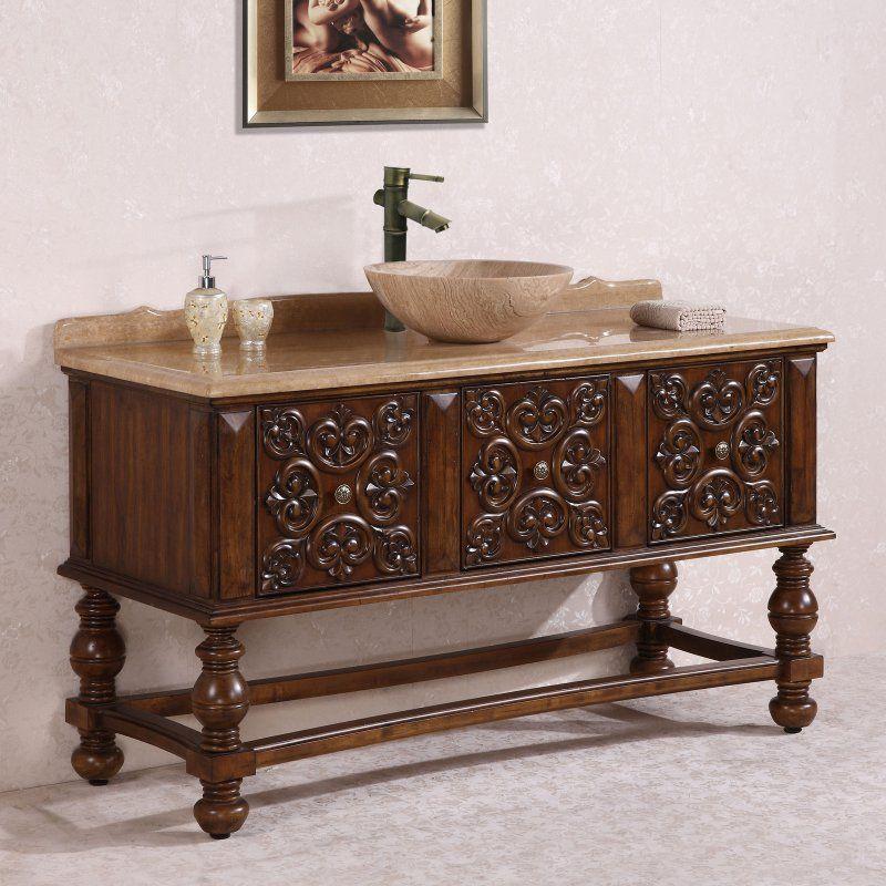 Legion Furniture WH2259 59 in Single Bathroom Vanity - WH2259