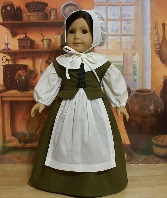 Early Colonial Pilgrim 6pc. Ensemble by Keepersdollyduds, via Flickr
