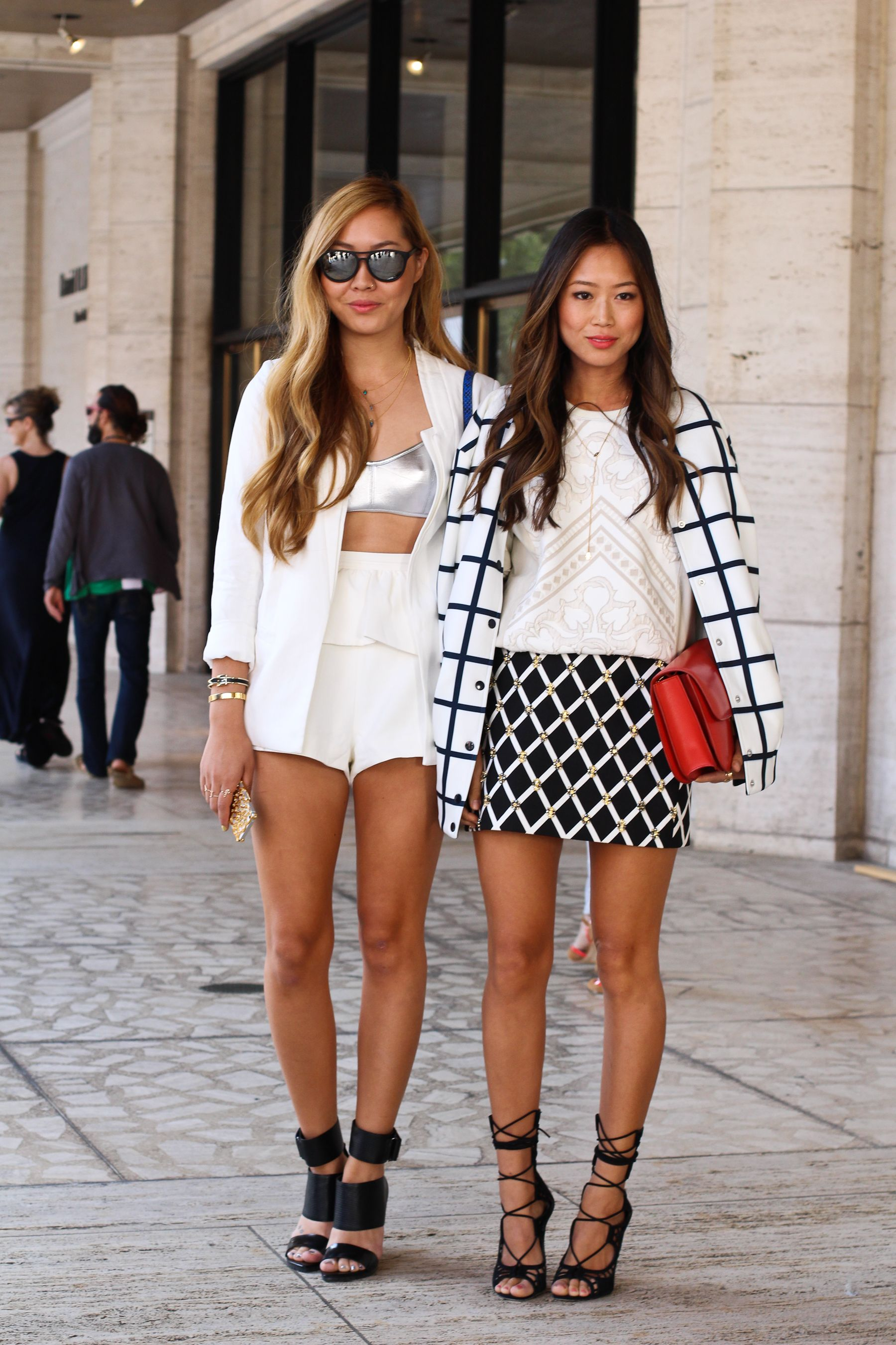 c29b2cc3650 ... Fashion Week Streetstyle  Day One. MBFashionWeek Song Sisters Aimee Song  Dani Song NYFW SS2014-0632