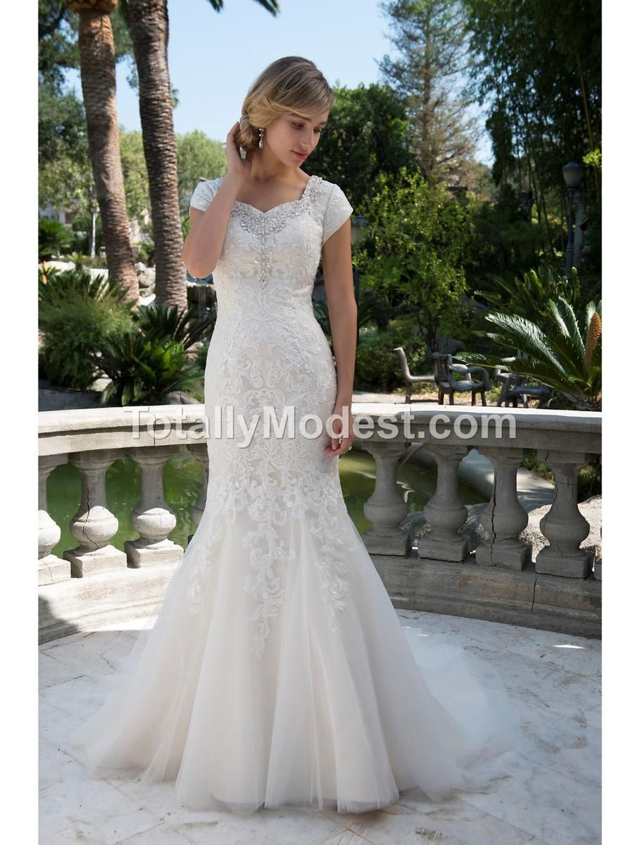 Callie totally modest dresses with sleeves pinterest wedding dress