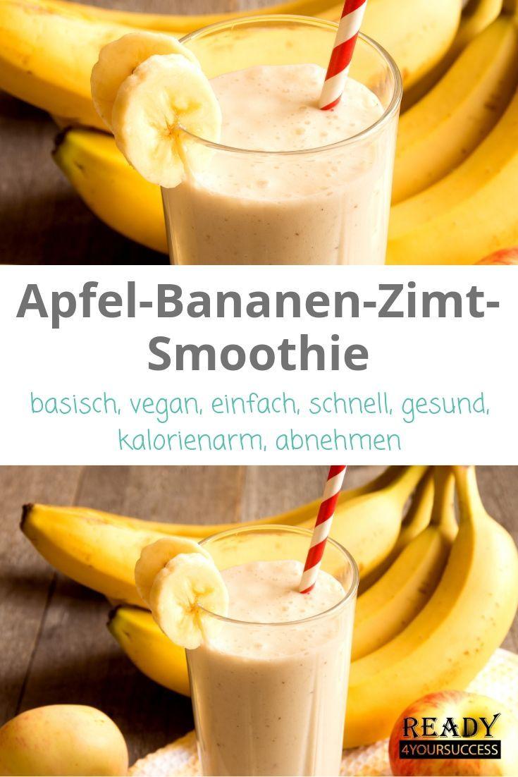 Photo of Apfel-Bananen-Zimt-Smoothie