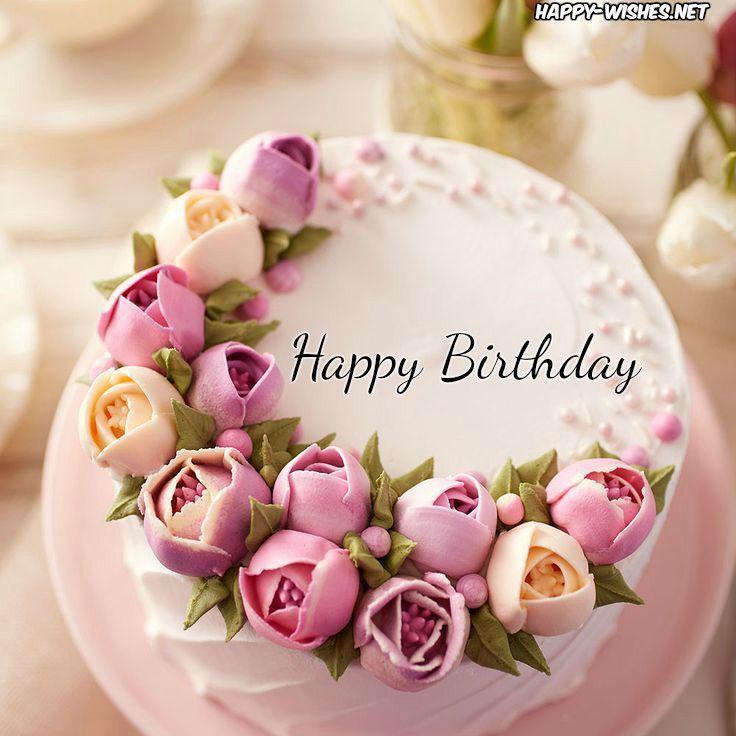 Wishing You A Happy Birthday Happy Birthday Cake Images Pretty Birthday Cakes Happy Birthday Cakes