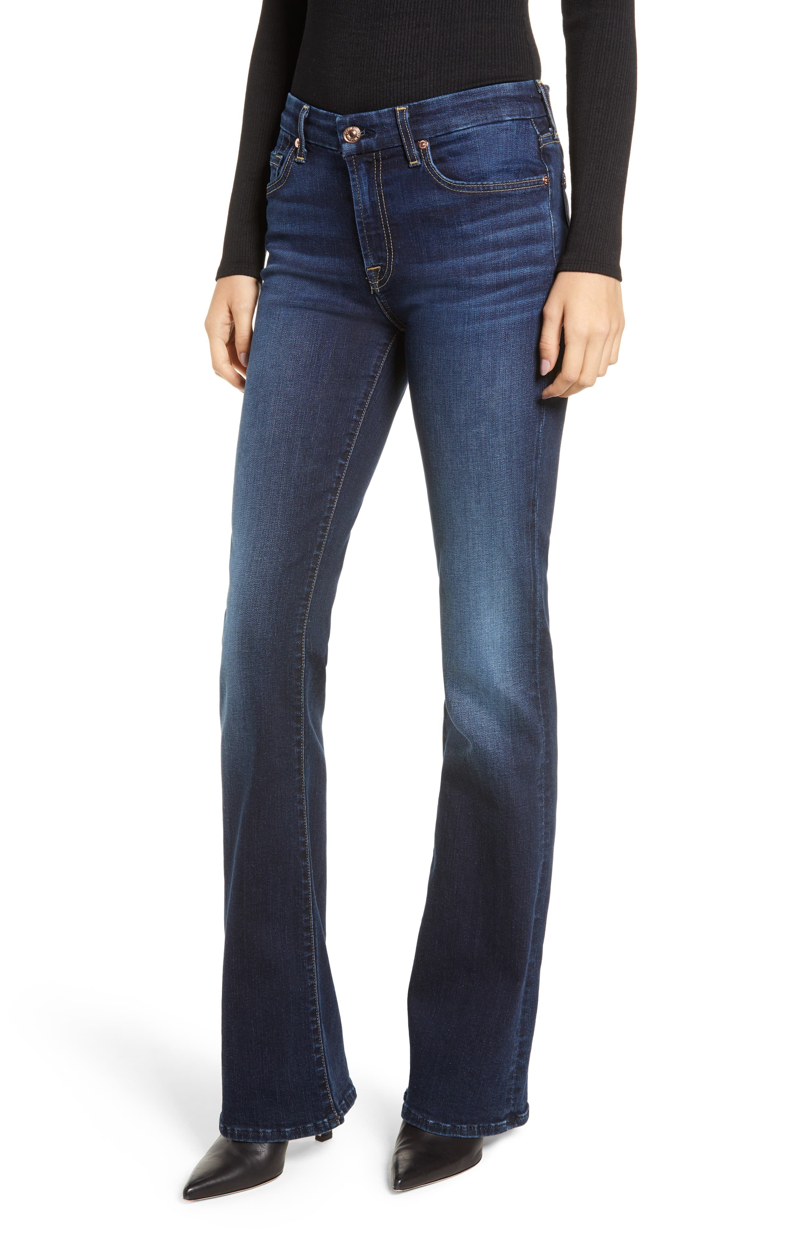 Women S 7 For All Mankind B Air Kimmie Bootcut Jeans Size