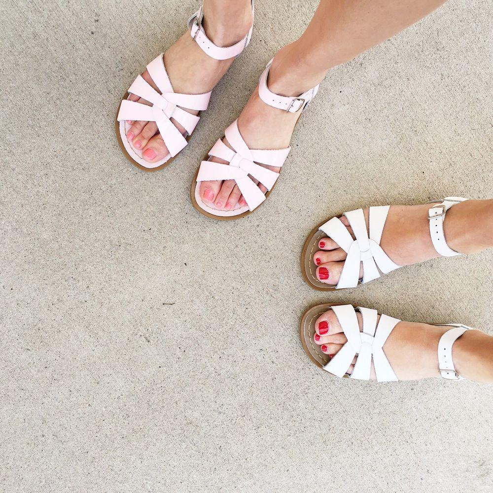 Salt Water Sandals   Sock shoes, Sandals, Cute shoes