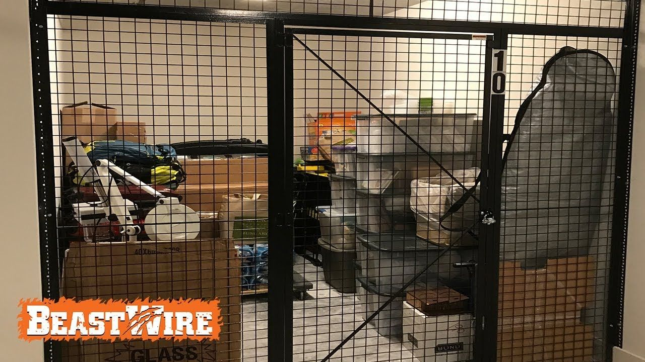 BeastWire Mesh Lockers for large Apartment Storage Units ...
