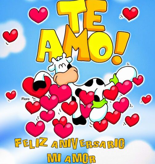 Te Amo Feliz Aniversario De 2 Años Amor Vivir Love