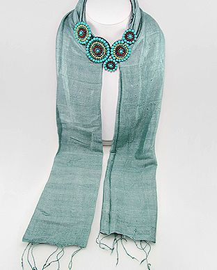 #Scarves #Jeweled #Gemstonescarves inquire about scarf e-mail pin-scarforders@usa.net