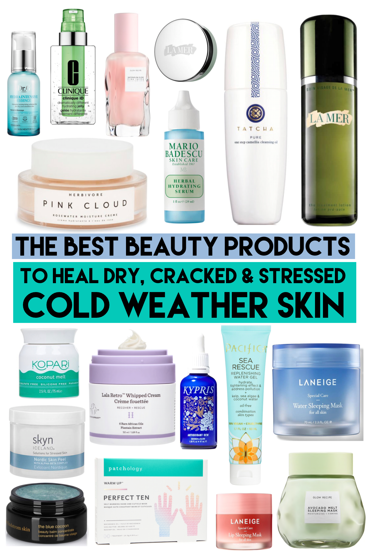 The Best Beauty Products For Stressed Winter Skin Winter Skin Dry Skincare Skin Care