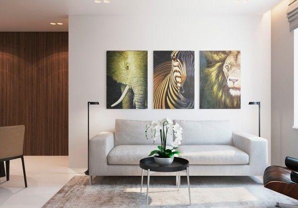 Appartements D'Un Intérieur Design Moderne Et Chaleureux | Salon