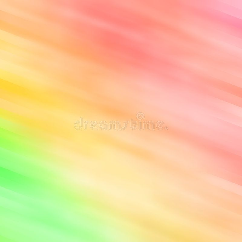 Abstract Background In Green, Yellow And Orange. Abstract