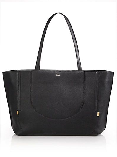 d4d62adbccf Chloé - Isa Leather Tote | BagLady. | Womens tote bags, Bags, Tote bag