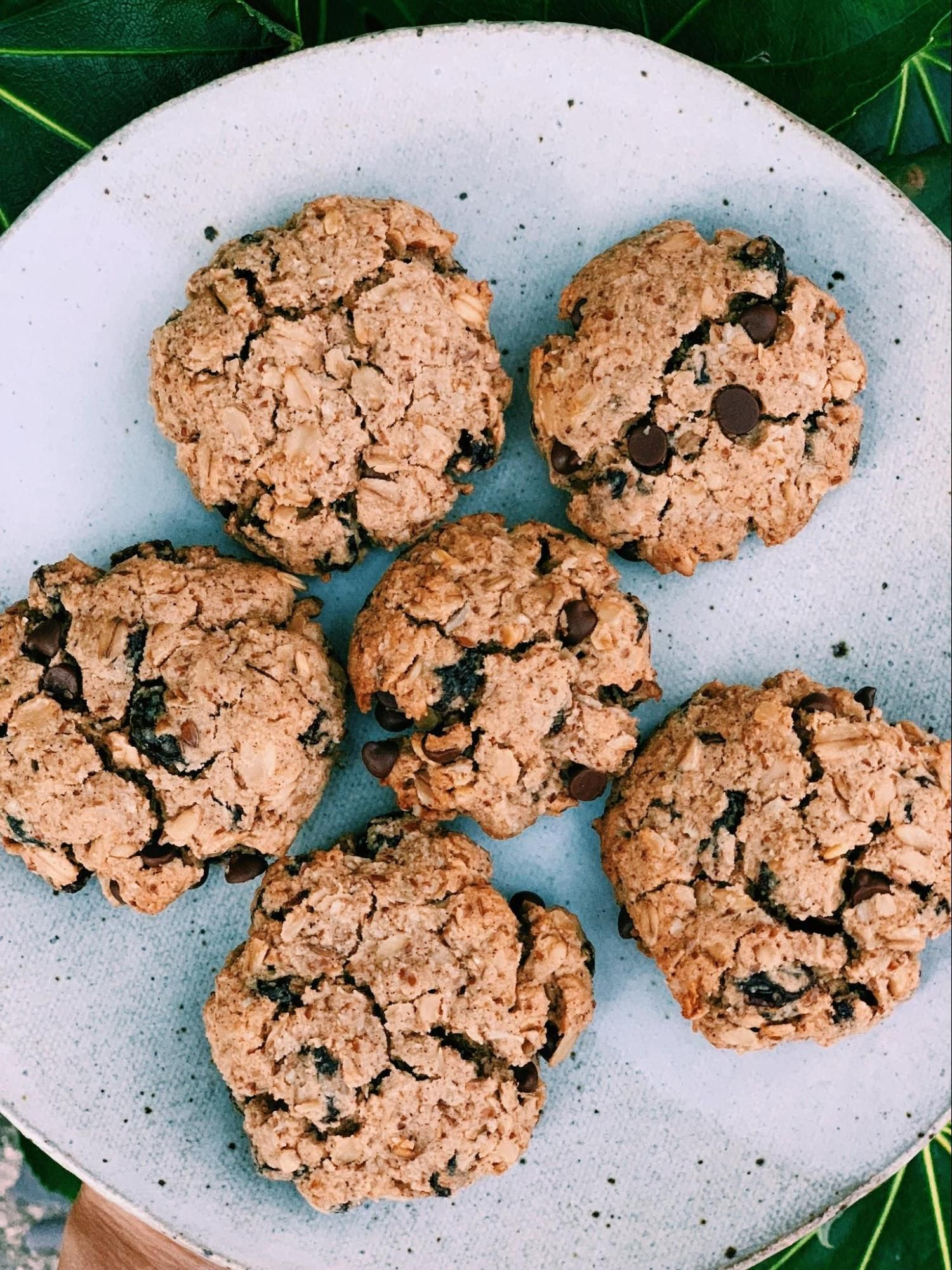 Chocolate chip oatmeal raisin cookies melissas healthy