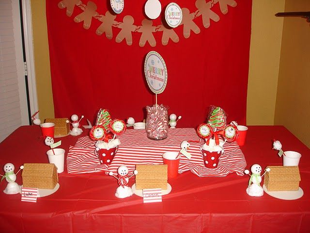 gingerbread house party themes Pinterest Gingerbread