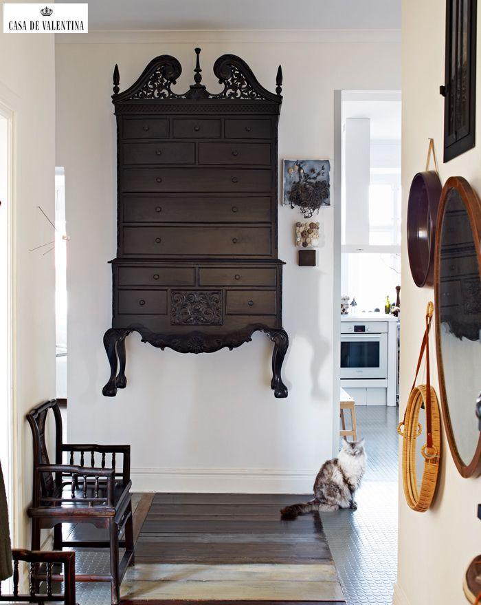 Via Casa de Valentina www.casadevalenti... #decor #interior #design #wood #idea #creative #casadevalentina