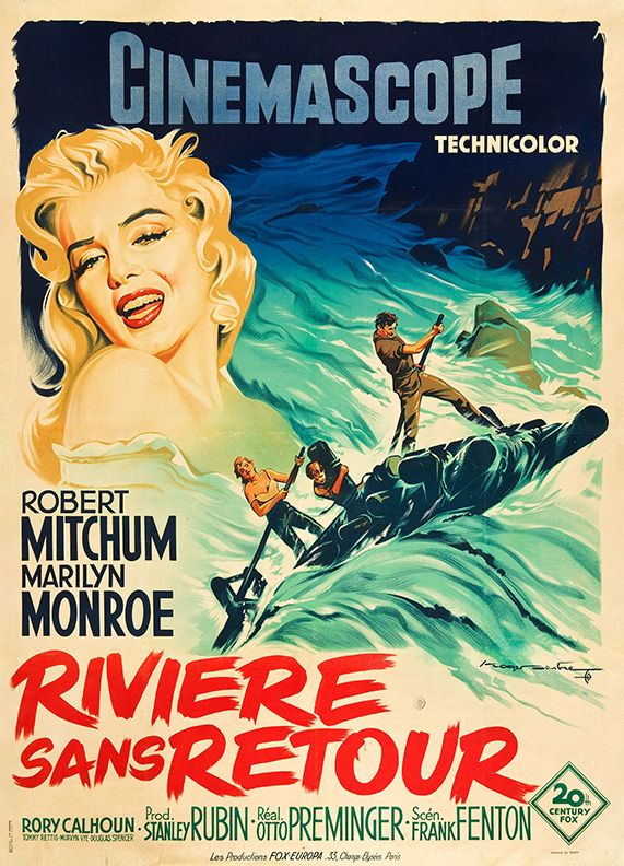 Movie Poster Of The Day Photo Movie Posters Marilyn Monroe Movies Classic Movie Posters