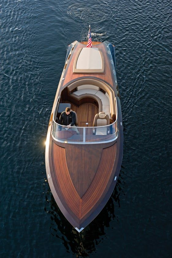 Coeur 340 Pure Coeur d'Alene Custom 34   Wooden Boats   Wood boats, Wooden speed boats, Runabout ...