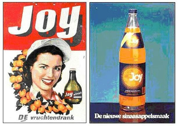Reclame Joy limonade uit Hilversum