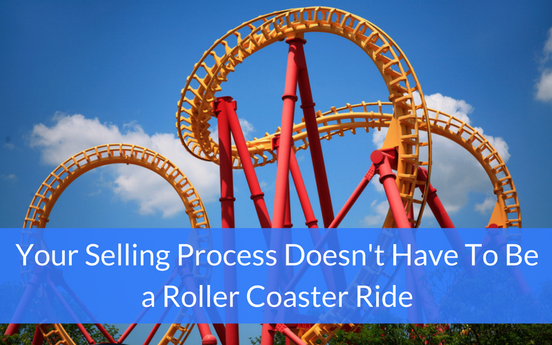 Your Sellingprocess Doesn T Have To Be A Roller Coaster Ride Http Www Xoombi Com Blog Selling Process Roller Coas Roller Coaster Roller Coaster Ride Roller