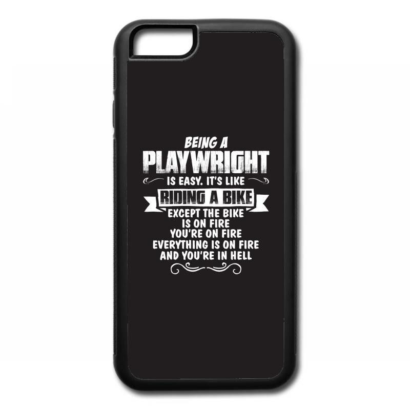 being a playwright iPhone 6/6s Rubber Case