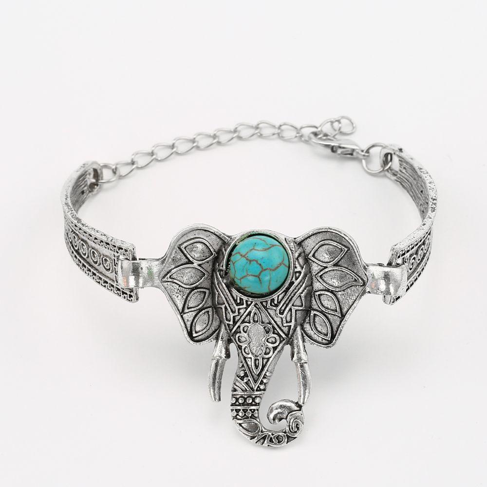Hot sale elephant bracelet for women vintage bracelets u bangles men