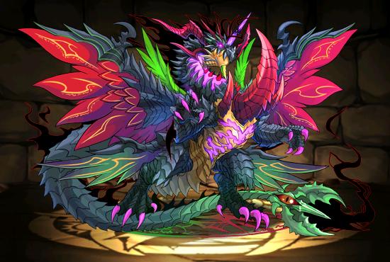 Cyclone Devil Dragon Magic Creatures Puzzles Dragons Dragon