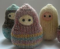 Matroeska - will need to knit these as memories of the Russian trip!